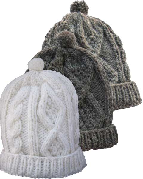20cf531cd88 Cable Knit Wool Hat